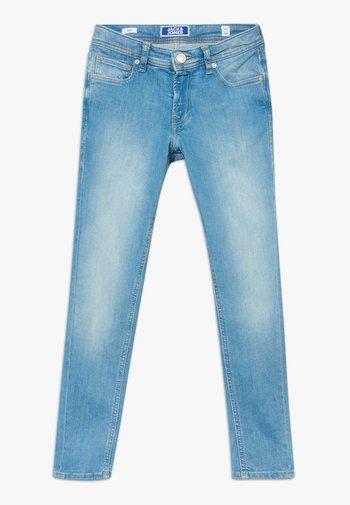 JJILIAM JJORIGINAL AGI JR - Jeans slim fit - blue denim