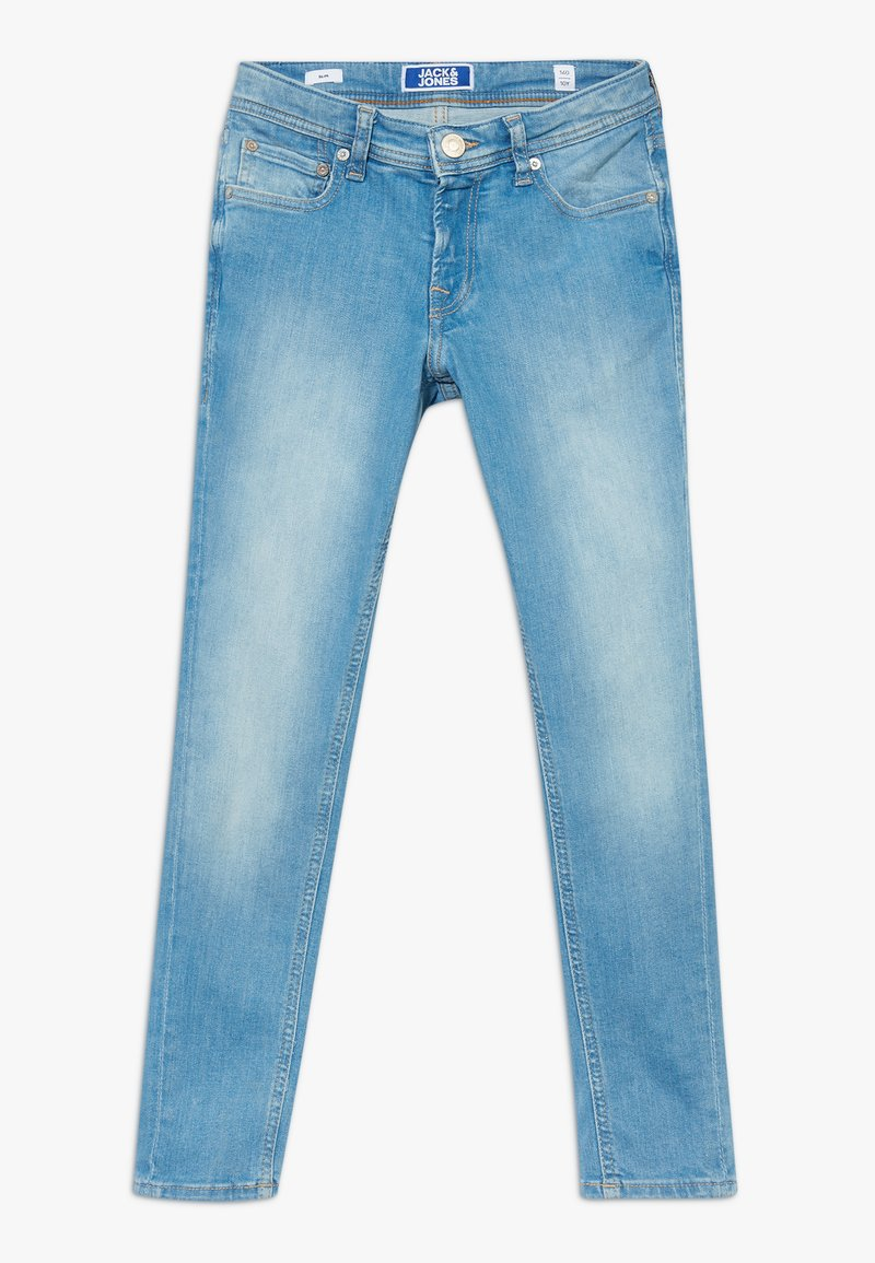 Jack & Jones Junior - JJILIAM JJORIGINAL AGI JR - Jeans slim fit - blue denim