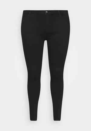 PCKAMELIA - Skinny džíny - black