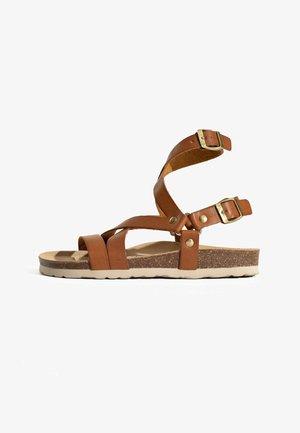 ARMIDALE - Sandały z cholewką - camel