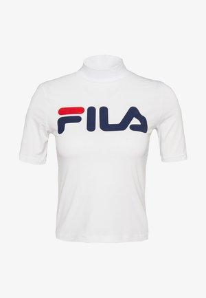 EVERY TURTLE TEE - T-shirt z nadrukiem - bright white