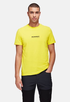 Print T-shirt - blazing