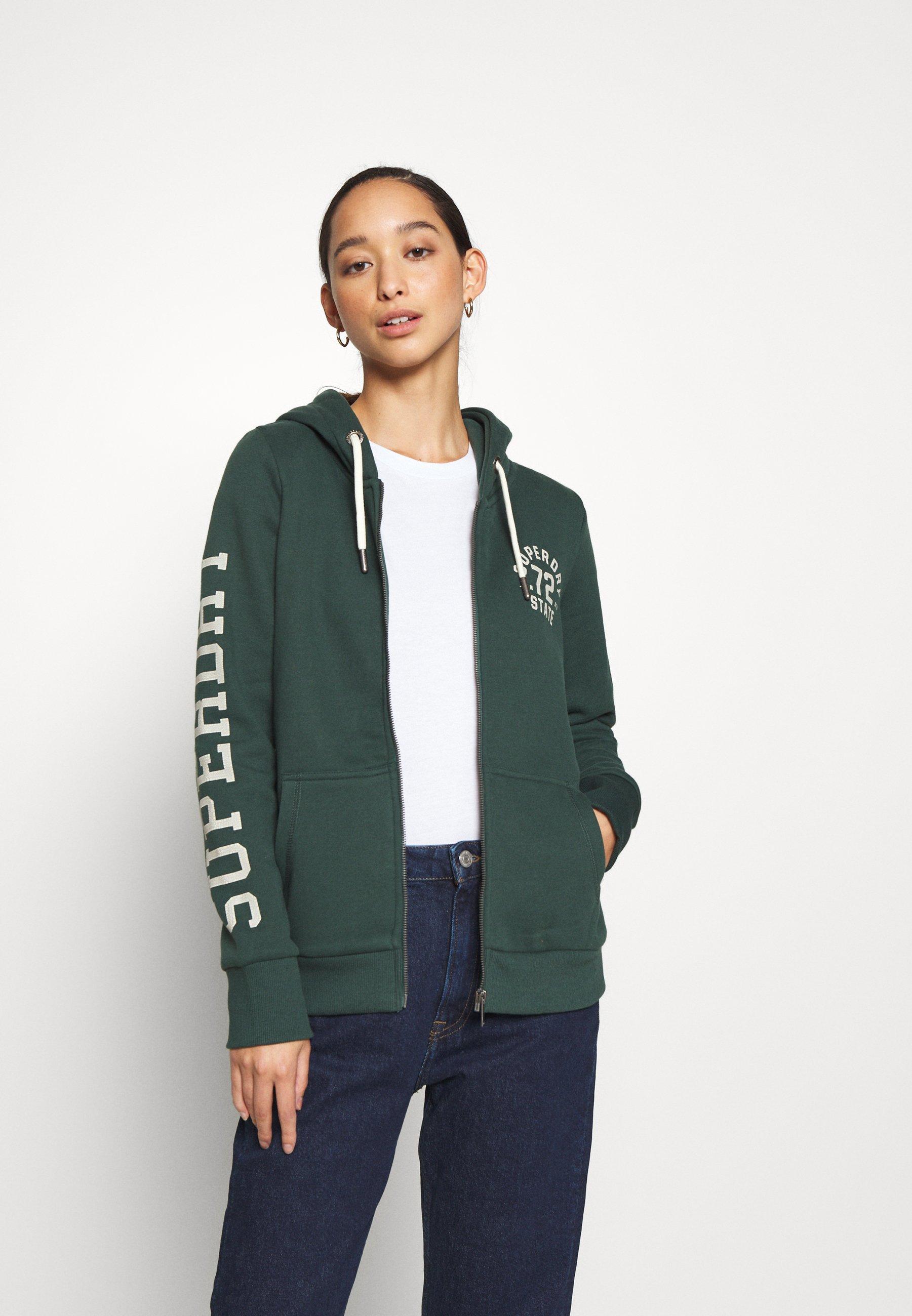 Women CLASSIC ZIPHOOD - Zip-up sweatshirt