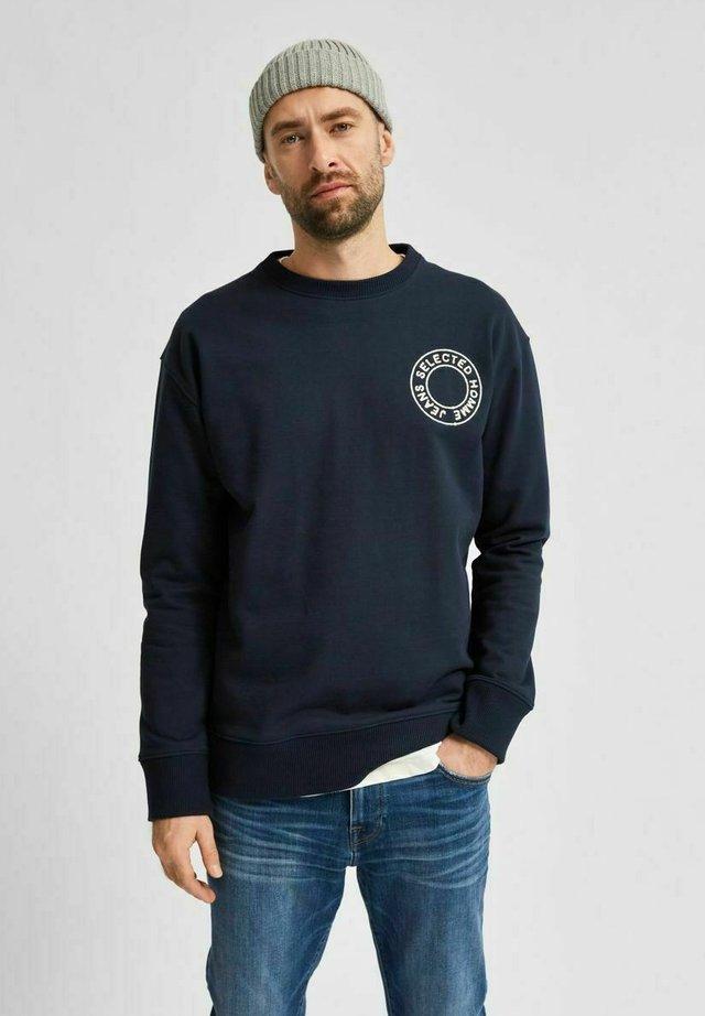 RELAXED FIT  - Felpa - navy blazer