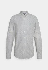 REGULAR FIT STRIPED OXFORD - Shirt - grey