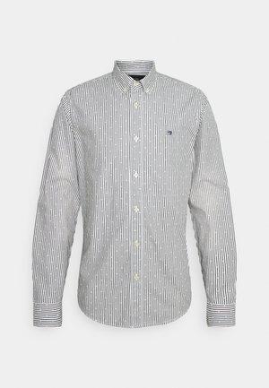 REGULAR FIT STRIPED OXFORD - Košile - grey