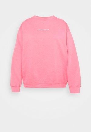 WASHED BASIC  - Sweatshirt - rose