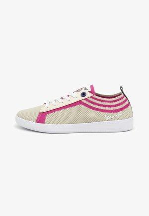 POP - Sneakers basse - crema-fuchsia