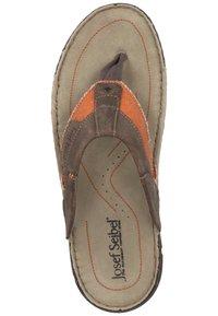Josef Seibel - JOSEF SEIBEL - T-bar sandals - Orange - 5