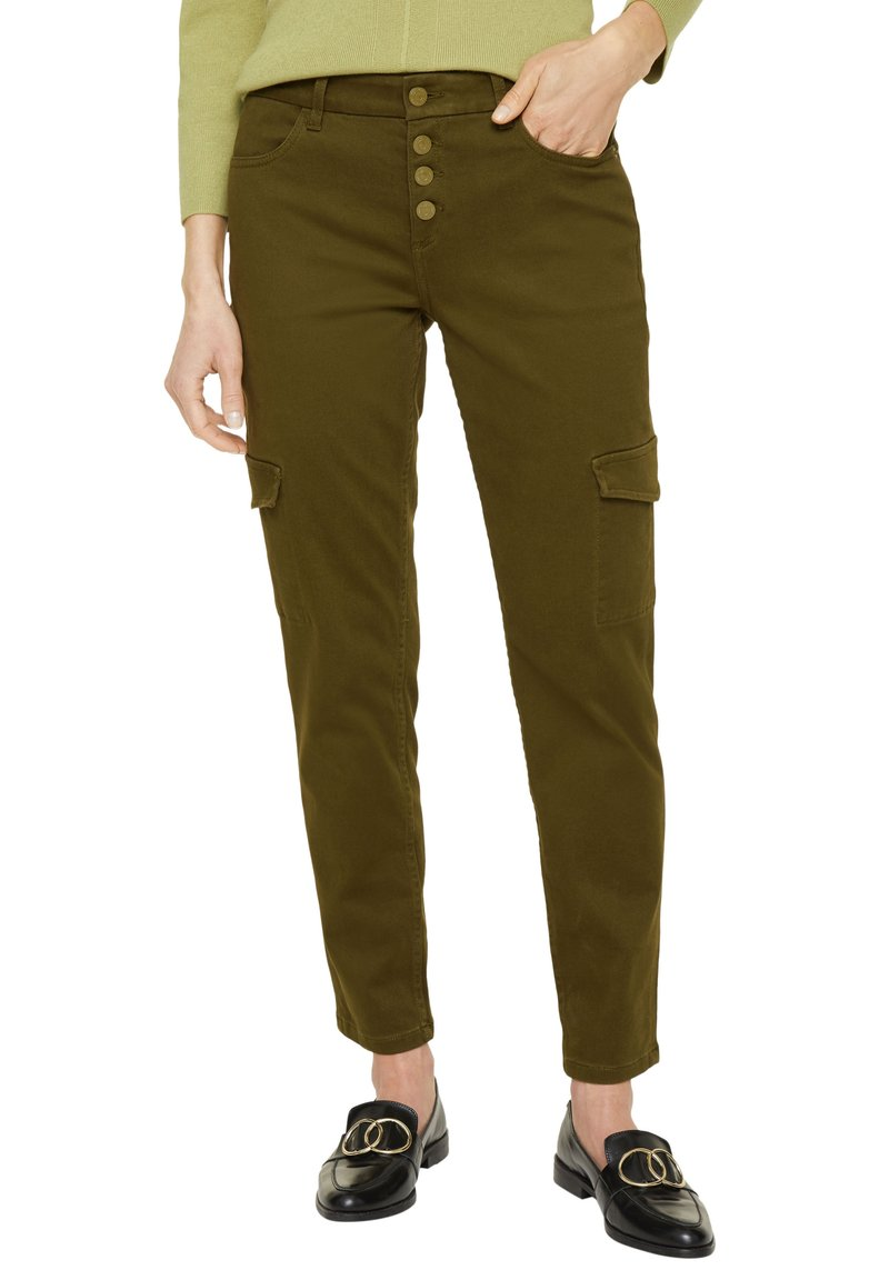 comma - Trousers - deep green