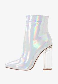 BEBO - ELLIA - Kotníková obuv na vysokém podpatku - silver - 1