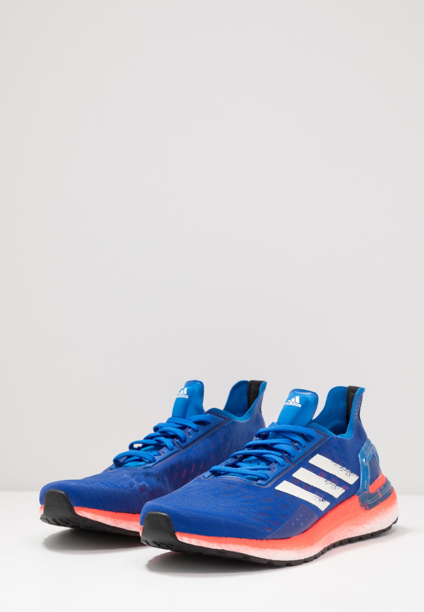 adidas Performance ULTRABOOST - Scarpe running neutre - glow blue/core white/solar red | Scarpe Prezzo Speciale