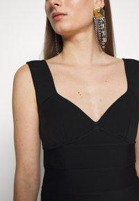 Hervé Léger - ICON FLARE SKIRT DRESS - Robe de soirée - black - 6