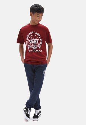 BY ORIGINAL GRIND SS BOYS - Print T-shirt - pomegranate