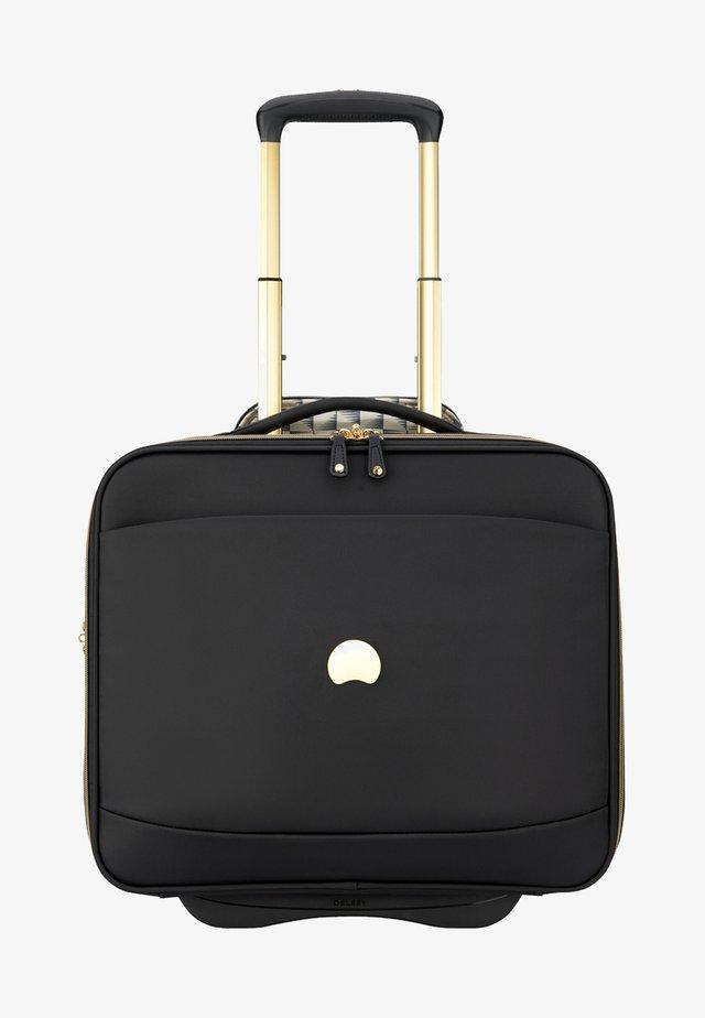 MONTROUGE 2-ROLLEN BUSINESSTROLLEY 40 CM LAPTOPFACH - Wheeled suitcase - black