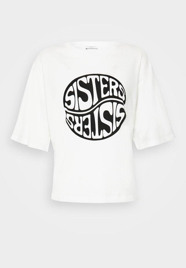 SISTY - T-shirts med print - blanc