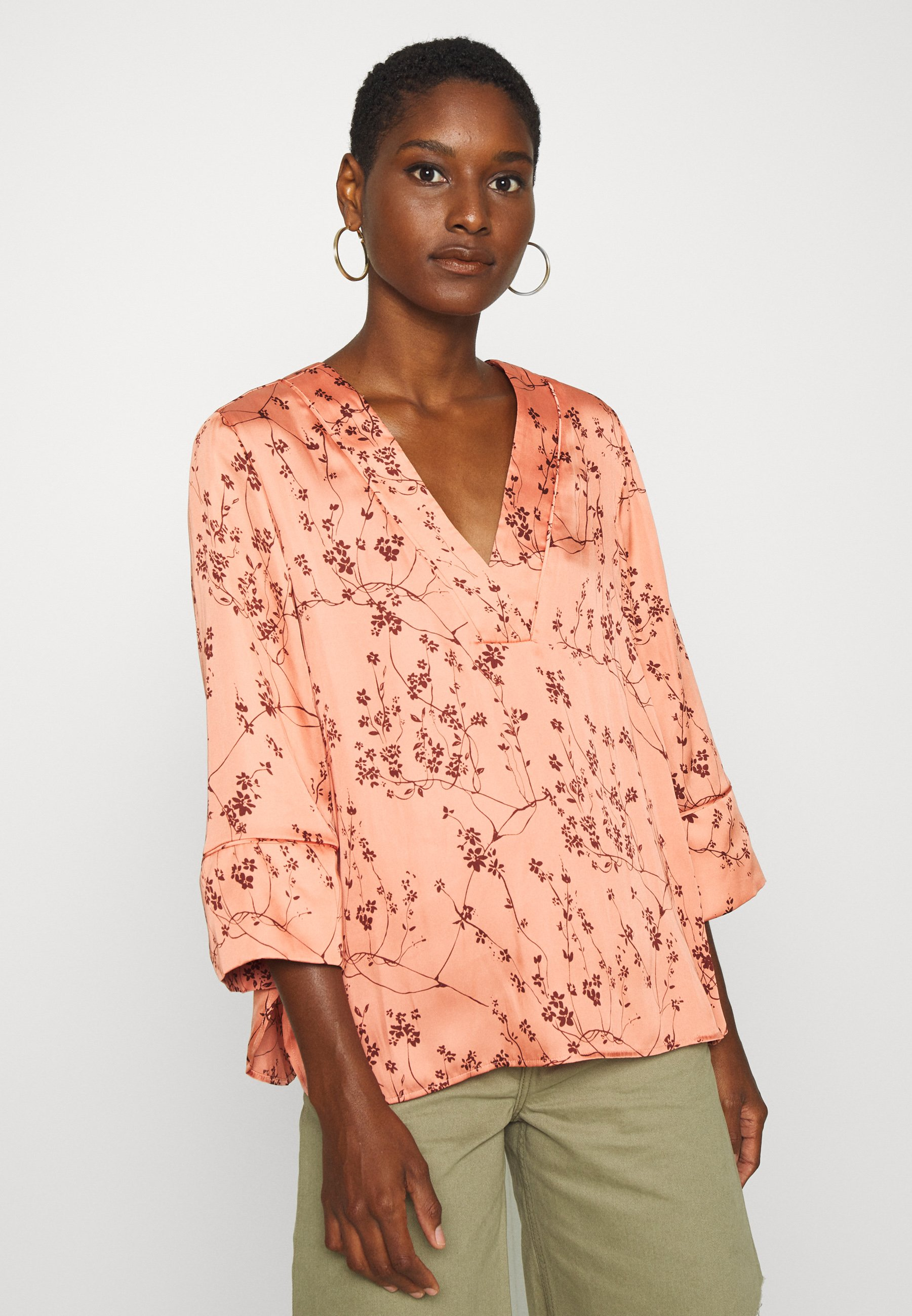Clean And Classic Women's Clothing Twist & Tango NELL BLOUSE Blouse peach nMBZx7Jnv