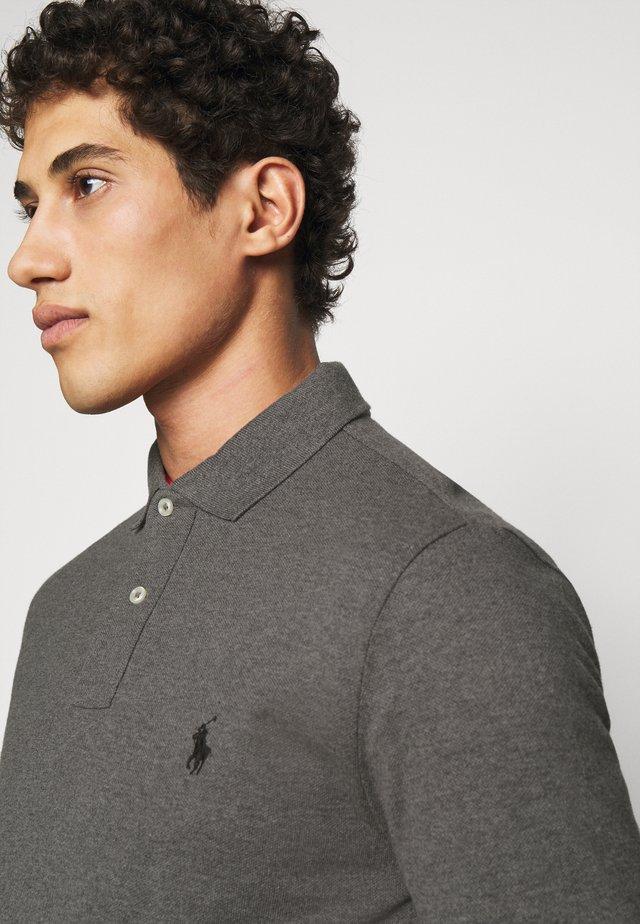BASIC  - Poloshirt - grey/black