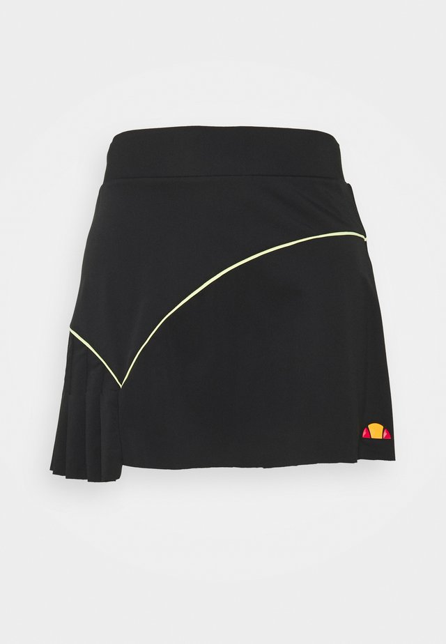 COURTINA SKORT - Rokken - black