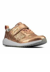 Clarks - AEON FLEX - Sneakers laag - copper leather - 5