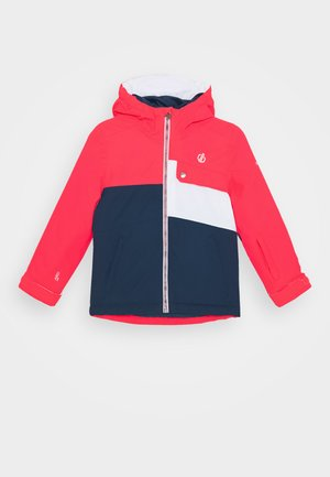 ENIGMATIC JACKET - Ski jacket - neon pink/dark denim