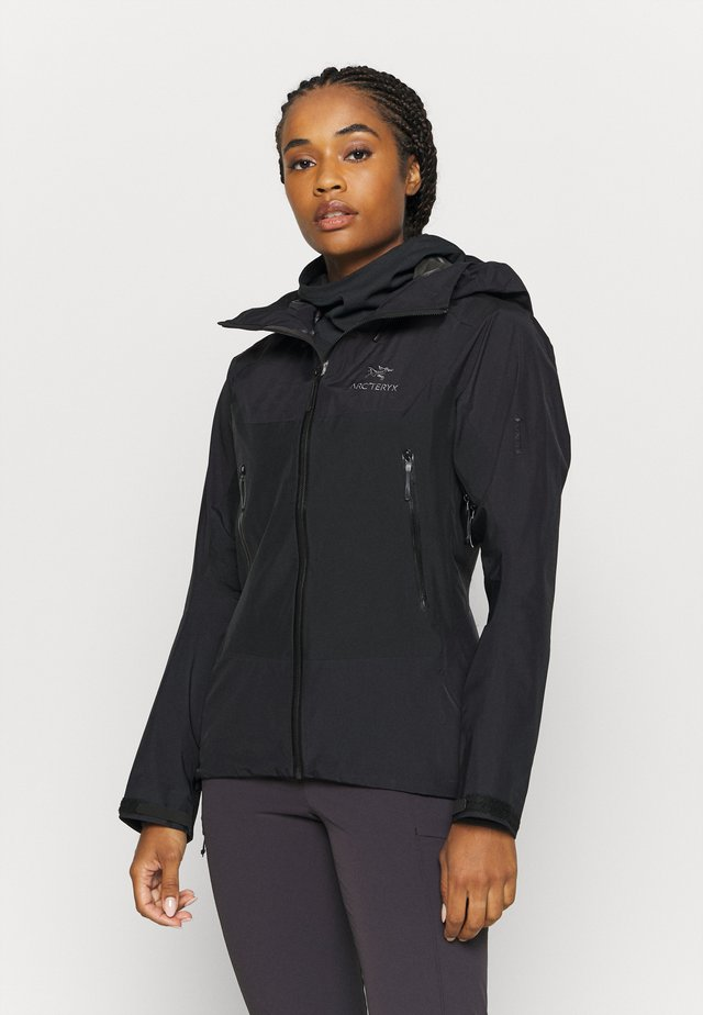 BETA HYBRID JACKET WOMENS - Giacca hard shell - black