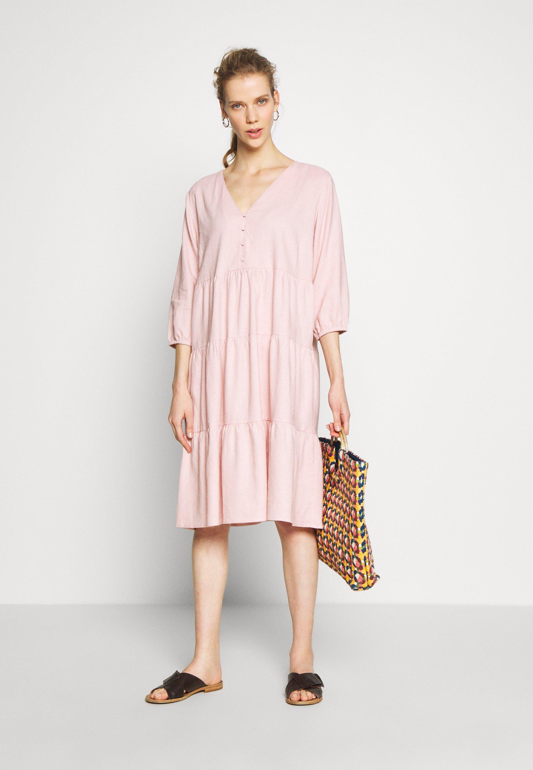 Cream ESTACR DRESS - Shirt dress - cameo rose
