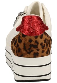 s.Oliver - S.OLIVER SNEAKER - Trainers - white punch 105 - 3