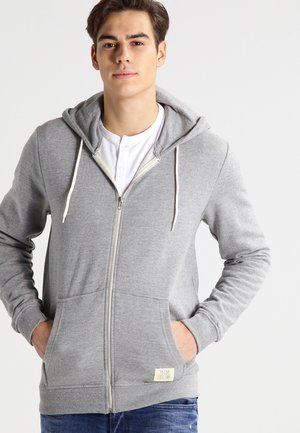 REGULAR FIT - Zip-up hoodie - zink mix