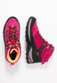 CMP - RIGEL MID TREKKING SHOE WP - Hiking shoes - bouganville/goji - 1