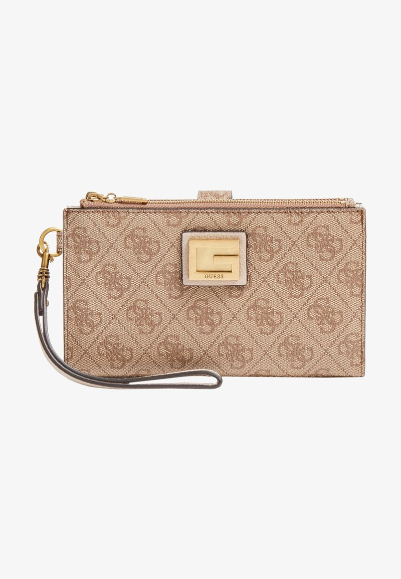 Guess - ORGANIZER VALY - Portefeuille - beige