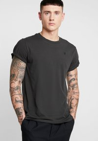 G-Star - SHELO - Basic T-shirt - raven - 0