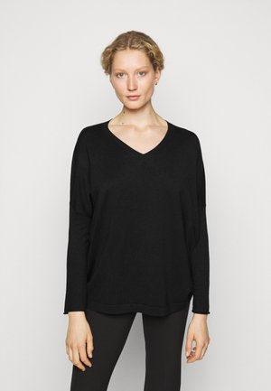FAVORTITE NECK SPECIAL - Jumper - black