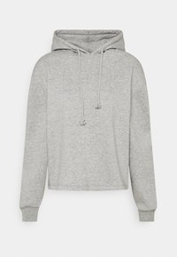 Pieces - PCCHILLI HOODIE - Hoodie - medium grey melange - 0