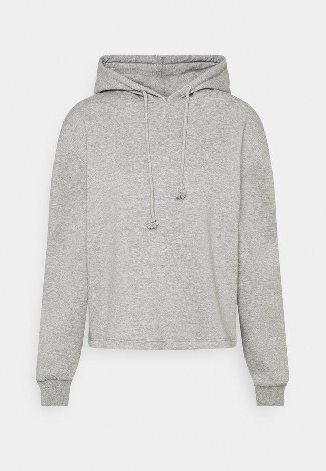 PCCHILLI HOODIE - Kapuzenpullover - medium grey melange