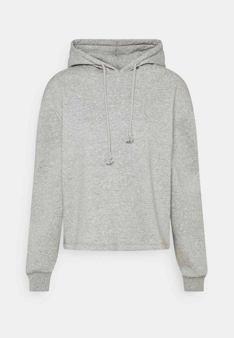 Pieces - PCCHILLI HOODIE - Hoodie - medium grey melange