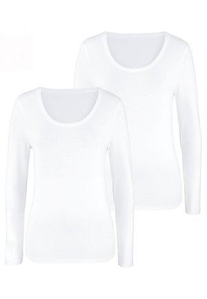 2 PACK - Long sleeved top - weiß