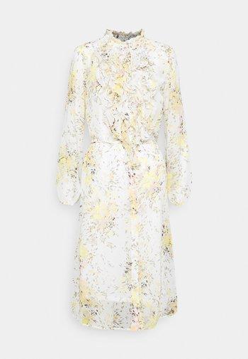 DRESS - Shirt dress - ice firework
