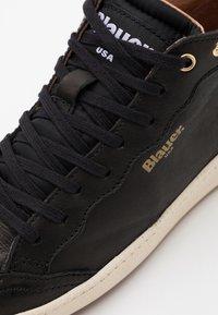 Blauer - MURRAY - Höga sneakers - black - 5