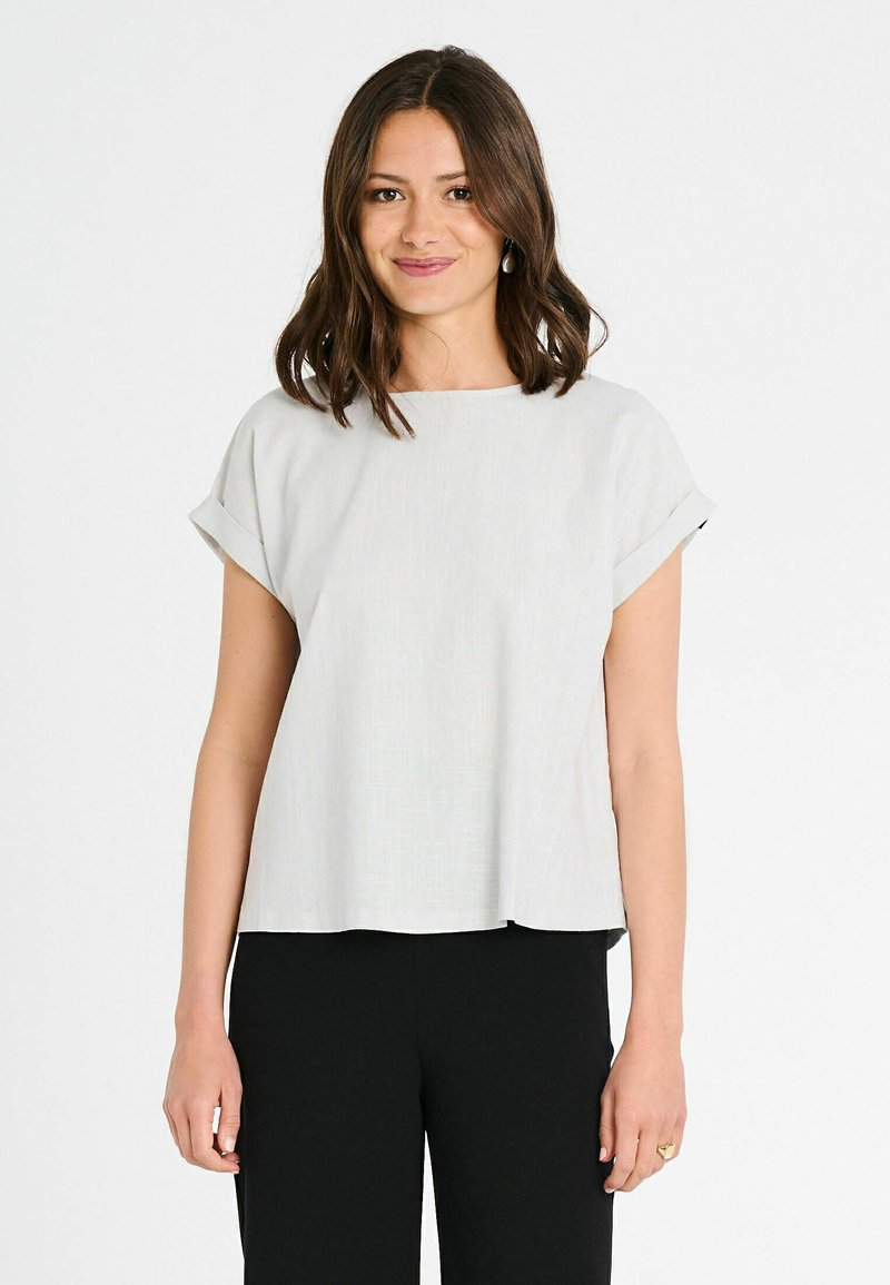 Jascha Stockholm - BOSTON - Blouse - light grey