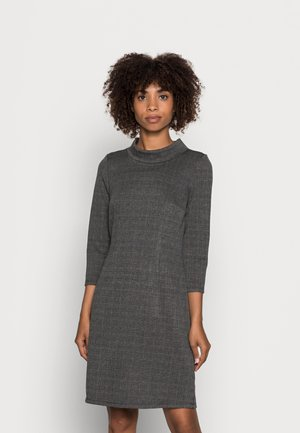 CHECK DRESS - Etui-jurk - grey glencheck