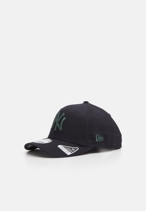 COLOUR ESSENTIALS 9FIFTY STETCH SNAP - Keps - navy/dark lichen