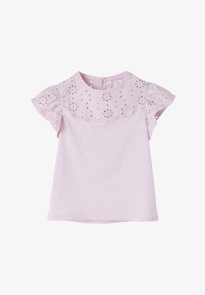 Vertbaudet - Print T-shirt - hellviolett