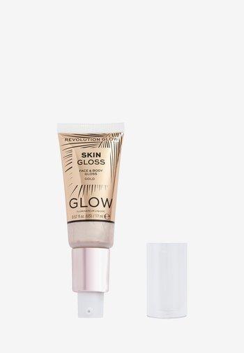 REVOLUTION FACE & BODY GLOSS - Highlighter - gold