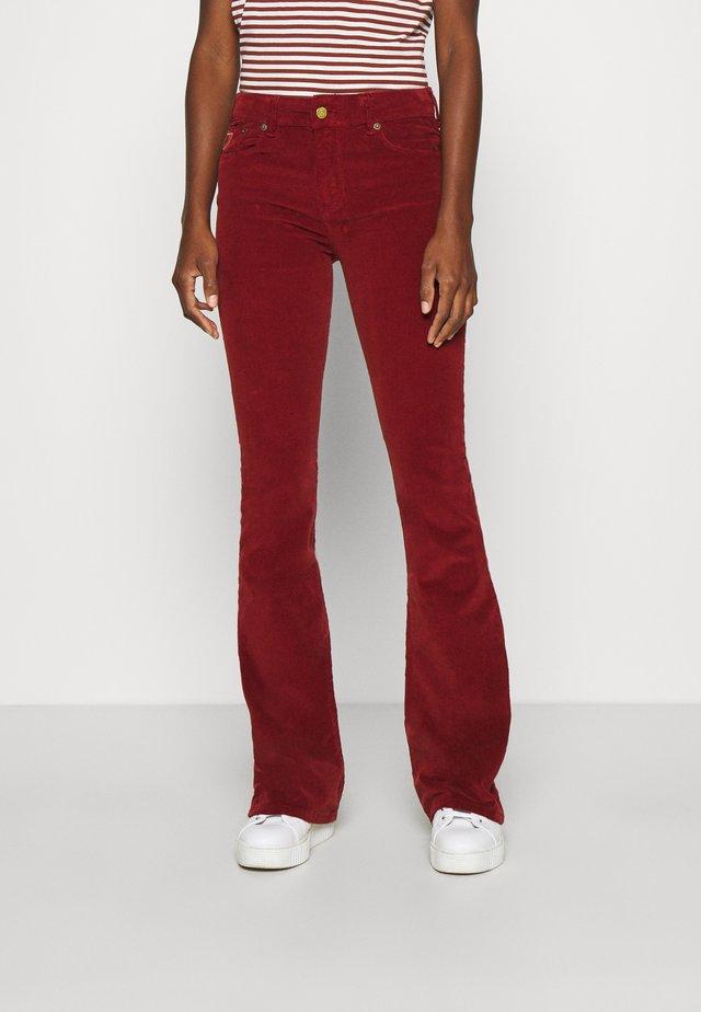 RAVAL - Trousers - brick