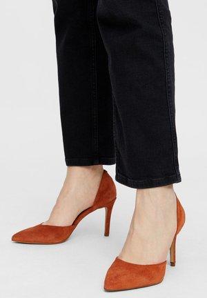 BIACAIT - High heels - cognac1