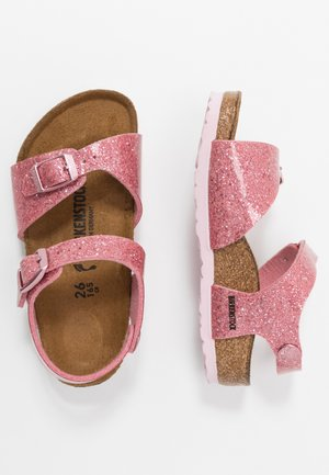 RIO - Sandals - cosmic sparkle old rose
