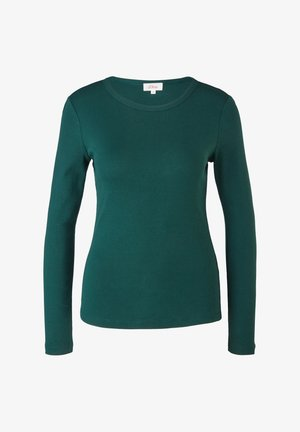 Long sleeved top - forest green