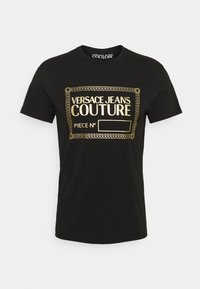 Versace Jeans Couture - T-shirt imprimé - nero/oro - 7