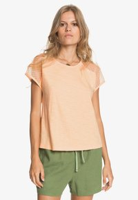 Roxy - CRYSTAL WATER - Print T-shirt - apricot ice - 0